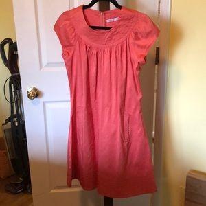 Calypso coral dress